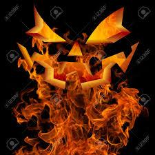halloween background jack halloween background design with scary flaming jack o lantern