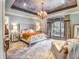 Master Bedroom Traditional Master Bedroom With Carpet U0026 Crown Molding In Edmond