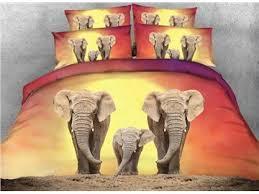 Elephant Print Comforter Set Elephant Comforter Set Beddinginn Com
