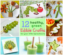 12 edible green crafts your kids will love and you will too
