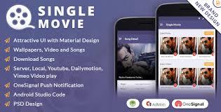 single movie app by viaviwebtech codecanyon