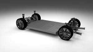 Tesla Interior Model S Tesla Model S With Chassis And Interior By Dragosburian 3docean