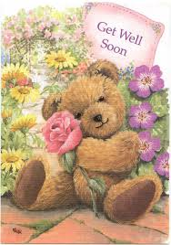 get well soon teddy get well soon teddy ecard