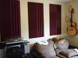 adding diy acoustic panels for studio best house design