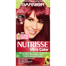 creme of nature exotic shine color intensive red 7 6 permanent