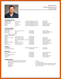 Resume Builder Usa Jobs Cv Template For Job Applications