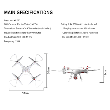 aa wifi syma x8sw 2 4ghz 4ch rc hover hd wifi camera fpv real time