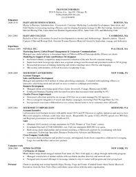 Harvard Resume Template Harvard Resume Format Billybullock Us