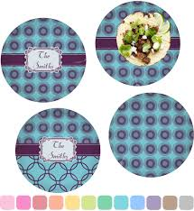 personalized dinner plate concentric circles dinner plate personalized baby n toddler