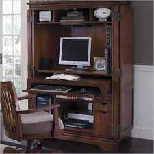 Oxford Secretary Desk Armoire Mesmerizing Sauder Edge Water Computer Armoire Ideas
