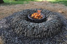 Wood Firepits Outdoor Wood Pit Ideas Implementation Of Outdoor Pit