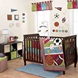 amazon com under the sea 5 piece baby crib bedding set with