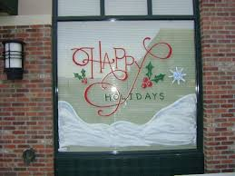 Holiday Christmas Window Decorations by 90 Best Christmas Window Decorations Images On Pinterest