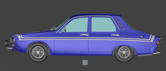 renault purple renault 12 gordini smcars net car blueprints forum