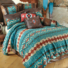 western bedding cerrillos hills turquoise bedding collection lone