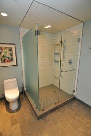 The Shower Door Questions Re Niche Height And Towel Bar On Shower Door