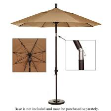 Aluminum Patio Umbrella by 7 5 Ft Aluminum Patio Umbrella Cork Ultimate Patio