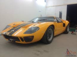replica for sale uk gt40 replica gtd chassis unfinished project kit car