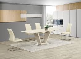 Extending Dining Table And Chairs Mesmerizing 70 High Gloss Kitchen Table And Chairs Decorating