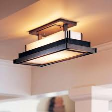 Fluorescent Light Fixtures For Kitchen Kitchen Fluorescent Light Fixture For Awesome Flush Mount Kitchen