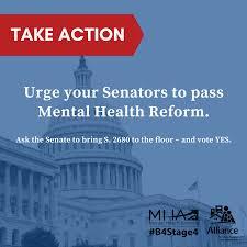 mental health reform legislation s 2680 h r 2646 mental