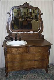 antique dresser as bathroom vanity antique bathroom vanity
