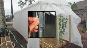 diy greenhouse fabric u0026 film fastener no clips or wiggle wire