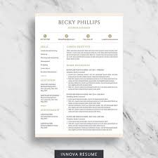 Two Page Resume Template 24 Best Resume Templates Images On Pinterest Cv Template