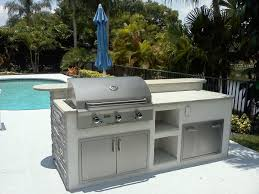 How To Build An Outdoor Kitchen Island Outdoor Cabinets Diy Zamp Co