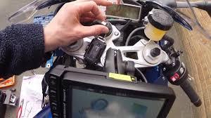 bmw navigator v cradle installation s1000rr youtube