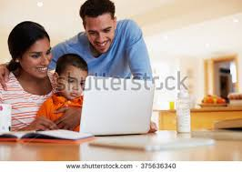 son helping mother wash dishes kitchen stock photo 375636475