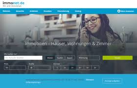 Immobilienportale Immonet Mit Neuer Startseite Immobilienportale Com