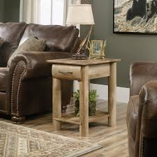 amazon com sauder boone mountain end table in craftsman oak