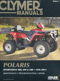 polaris 400 450 500 sportsman ho rse 1996 2013 service repair