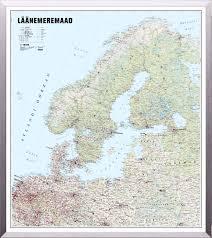 Baltic Sea Map Map Of Baltic Sea Countries Regio