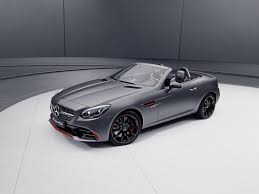 new special edition 2018 mercedes amg sl and slc roadsters