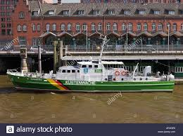 customs boat oldenburg in front of the german customs museum in the
