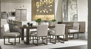 Universal Dining Room Sets Modern Desmond Dining Room Set Portobello W Charcoal Carter