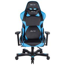 Computer Chair by Clutch Chairz Crank Charlie Gaming Chair Blue Black Gaming
