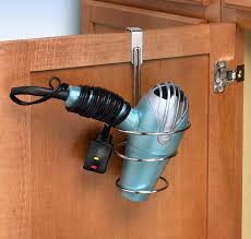 Over The Cabinet Door Basket by Controlling Craziness Hair Dryer Storage