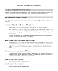 Production Operator Job Description Resume by Housekeeping Job Description General Laborer Job Description