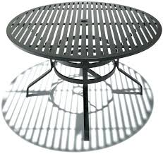 patio table with umbrella hole outdoor dining sets with umbrella hole nicety info