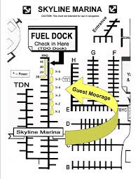 Map Guest Fuel Dock Skyline Marina U2013 San Juan Islands U0026 Anacortes Wa