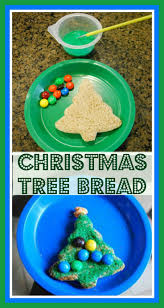 christmas tree bread a fun snack for kids that u0027s easy for parents