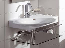 corner sinks for small bathrooms very pedestal wall hung sink tiny