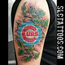 17 best chicago cubs tattoos images on pinterest baseball