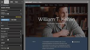 Online Resume Website by Kelvin Pine Free Personal Resume Bootstrap Theme Pinegrow Web