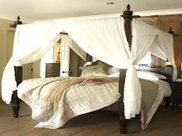 bedroom four poster bed canopy stainless steel from endearing