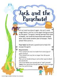 freebie friday jack and the parachute more than a worksheet