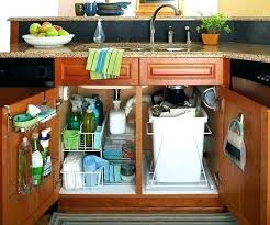 under kitchen sink storage solutions kitchen sink storage solutions storage kitchen sink organizer ideas